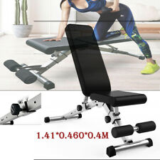 Adjustable Weight Workout Folding Bench Strength Training Fitness Sit ups Home