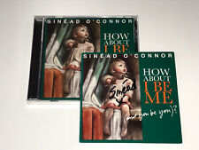 Sinead O'Connor Rare Signed How About I Be Me CD from Sold Out Pre-Sale Promo