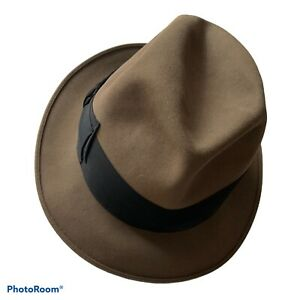 Lock & Co Hatters Mens Tribly Hat 59 Cm 71/4 RRP £295