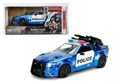 JADA 1:24 W/B METALS TRANSFORMERS BARRICADE CUSTOM POLICE CAR DIECAST CAR 98400