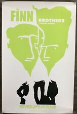 The Finn Brothers 2004 Seattle  A/P Signed Ames Bros. Poster