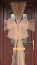 Rose Gold Eleganza Diamante Door Bow  - Luxury Christmas Wreath Decoration