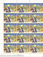 1989 Grenada Grenadines 5c Mickey & Minnie Mouse At The Opera Sheet 0f 30!