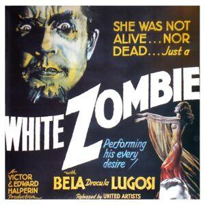 White Zombie 1932 Bela Lugosi, Madge Bellamy Horror  DVD