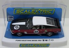 Scalextric 1/32 FORD MUSTANG BOSS 302 - BRITISH SALOON 1970 Slot Car C3926