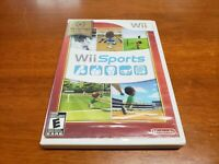 Wii Sports (Nintendo Wii, 2006) CIB Complete TESTED Nintendo Selects