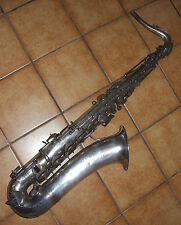 saxophone ténor de LYRIST (Adolphe Sax fils)- old antique TENOR saxophone