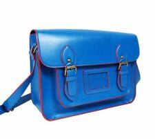 Bolsos de mujer azules grandes, PVC