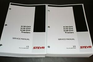 CASE STEYR 6130 6145 6160 CVT TRACTOR SERVICE MANUAL