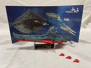 Nomura Space Battleship Yamato 1/1300 scale Diecast w/ Box - Vintage 1970s