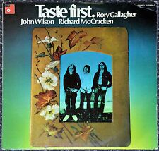 33t Rory Gallagher, John Wilson, R. Mc Cracken - Taste First (LP) - ORIGINAL