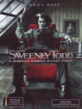 SWEENEY TODD CON JOHNNY DEPP DI TIM BURTON (DVD) NUOVO, ITALIANO, ORIGINALE
