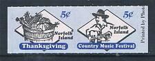 Norfolk Is 2000 Festivals Booklet stamps SG 722/3 MNH