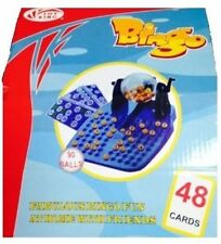 New Fabulous Bingo Fun Game at Home with Family & Friends Set 90 Balls 48 Cards