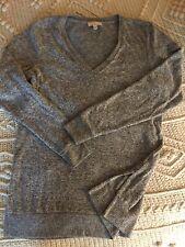 Lucky Brand V-Neck Pullover Sweater Lightweight Soft Fine Knit NWT
