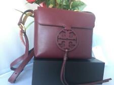 Tory Burch Miller Crossbody Bag in Port 100 Guaranteed Authentic