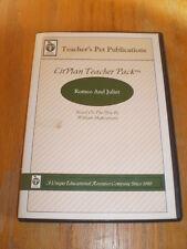 Teacher's Pet Publications LitPlan Teacher Pack Romeo and Juliet CD-ROM 2005