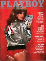 Playboy Magazine August 1979 ~ The Rolling Stones - An Insider's Steamy Story!