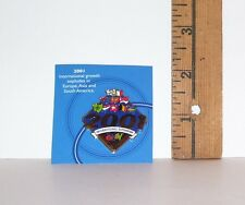 2001 E-BAY INTERNATIONAL EXPANSION 10 YEARS PIN HAT PIN NEW FROM PACKAGE