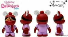 "New Disney Store Exclusive Vinyl Cutesters Too Vinylmation 3"" Red Scarf"