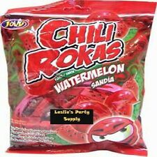 Jovy Chili Rokas Watermelon ( Sandia) Flavor Net Wt 6oz (170g) Bag