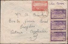 ALGERIA, 1947. Air Cover C1, C5 (3), Croydon, Australia