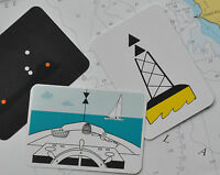 Marine Flip Cards - large selection, great for RYA training