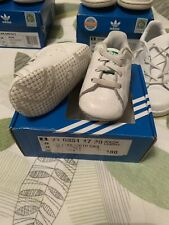 Adidas Crib Stan Smith Kids Toddler Baby Trainers Size 2k