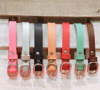 PU Leather Belt Waistband For 1//3 1//4 SD17 DD SD DZ AOD BJD Dollfie Outfits PF