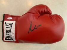 Muhammad Ali Signed Leather Boxing Glove in Black PSA ITP Grade 10 3A74586