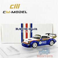 CM Model 1:64 Prosche RWB 964 Rothmans Diecast Model Car