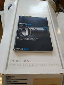 Phase One H5 Digital Back. Hasselblad V fitting. Boxed complete all cables. UK.