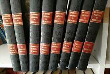 Lot 8 livre relié La grande aventure de l'archéologie Babel tombeaux Atlantide