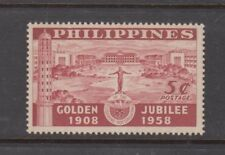 Philippine Stamps 1958 University of the Philippines Golden Jubilee  MNH
