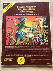 Dungeons & Dragons - Module C1 - The Hidden Shrine of Tamoachan - 5th Printing