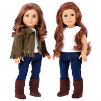 Siege Jacket - Doll Clothes for 18 inch American Girl, Jeans Tank Top Boots