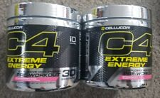 2 BOTTLES! CELLUCOR C4 Extreme Energy Straw Kiwi Ultimate 60 Servings12/2019  t1