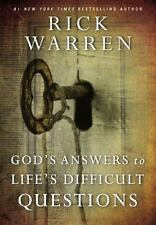 God's Answers to Life's Difficult Questions by Rick Warren (2014, Hardcover)