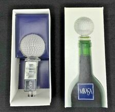 "MIKASA "" Tee Time"" Bottle or Wine Stopper - NEW - MUST LQQK!!!!"