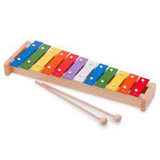 Metallophon 12 Töne Glockenspiel Metall Klangplatten Kinder Instrument
