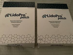 Lidopro Lidocane Patches Topical Pain Relief