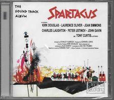 CD ALBUM BOF/OST 11 TITRES--SPARTACUS--ALEX NORTH--NEUF