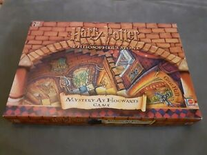 Harry Potter and the Philosopher's Stone Mystery at Hogwarts Board Game Mattel