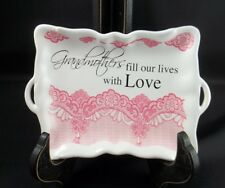 Decorative Trinket Candy Dish Holder Grandmothers fill our lives w/ Love #125