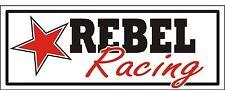 R001 Rebel Racing - Cars, Trucks, SUV garage shop business banner
