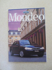 1997 Ford Mondeo automobile advertising booklet