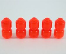 NEW LEGO TRANS-ORANGE NEON HEADS X10 PACK MINIFIGURE ORANGE HEAD PART
