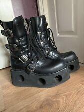 New Rock Platform Boots Size 10(28.6cm)