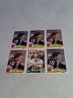 *****Steve Cox*****  Lot of 33 cards.....3 DIFFERENT / Football
