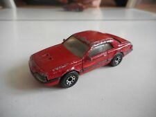 Matchbox T-Bird Turbo Coupe in Red
